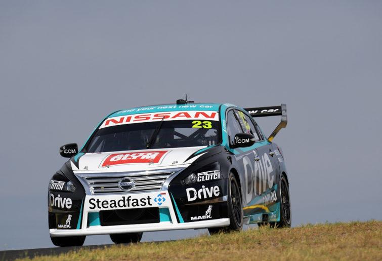 Michael Caruso tests his 2018 Nissan Altima.