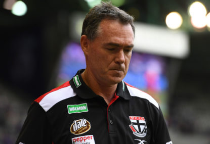 Richo's departure was needed, but the timing was awful