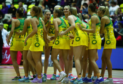 The netball world is closing in on the Diamonds
