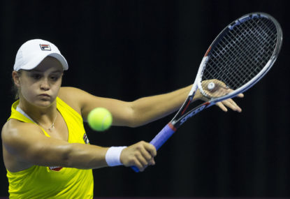 Ashleigh Barty bounces back at WTA Elite Tour trophy