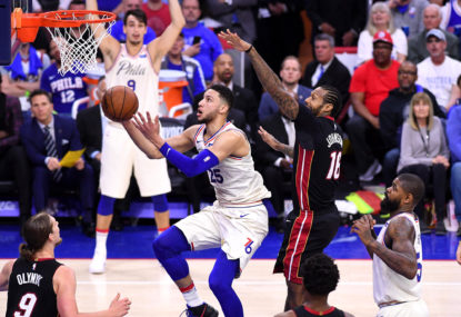 Ben Simmons' 76ers fall to Miami Heat