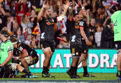 Highlanders vs Chiefs: Super Rugby live scores