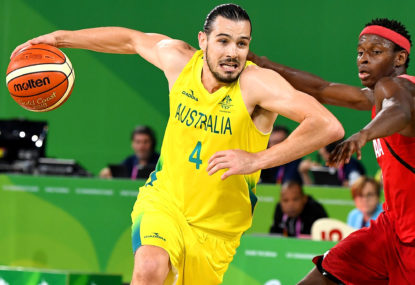 Australian Boomers vs Scotland: Commonwealth Games Men's basketball semi-final live scores, blog
