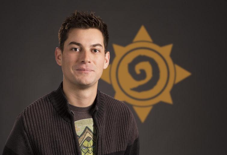 Hearthstone's Lead Final Designer, Dean Ayala.
