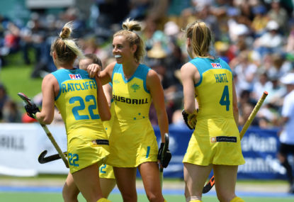 Australian Hockeyroos vs Scotland: Commonwealth Games, Women's hockey live scores, blog