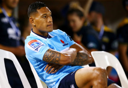 The tragic tale of Israel Folau