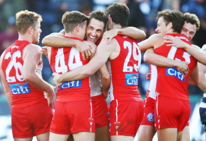 Swans rocket up the ladder off the back of Dockers drubbing