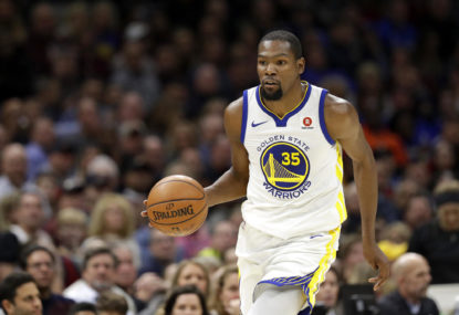 Is Kevin Durant an all-time top-ten player?