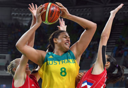 Aussie Opals demoralise Mozambique in first Commonwealth Games match