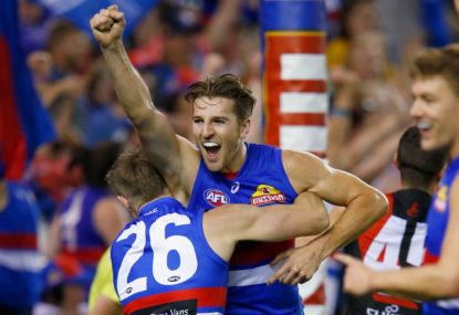 Dogs dream of finals after Bombers blitz
