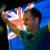 Australian flag-bearer Mark Knowles