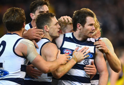 Geelong need Patrick Dangerfield's chaos to be contagious