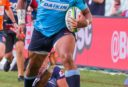 Taqele Naiyaravoro of the Waratahs tall <br /> <a href='https://www.theroar.com.au/2018/04/13/taqele-tease-aussie-rugby-fans/'>Taqele a tease for Aussie rugby fans</a>