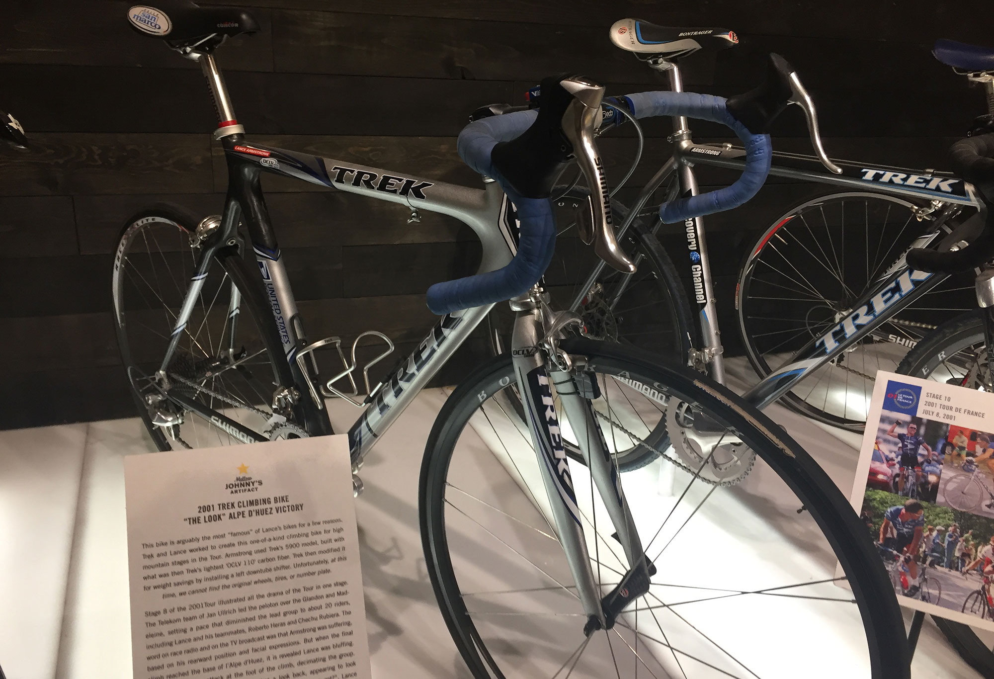 Lance Amrstrong's bike from 'The Look'