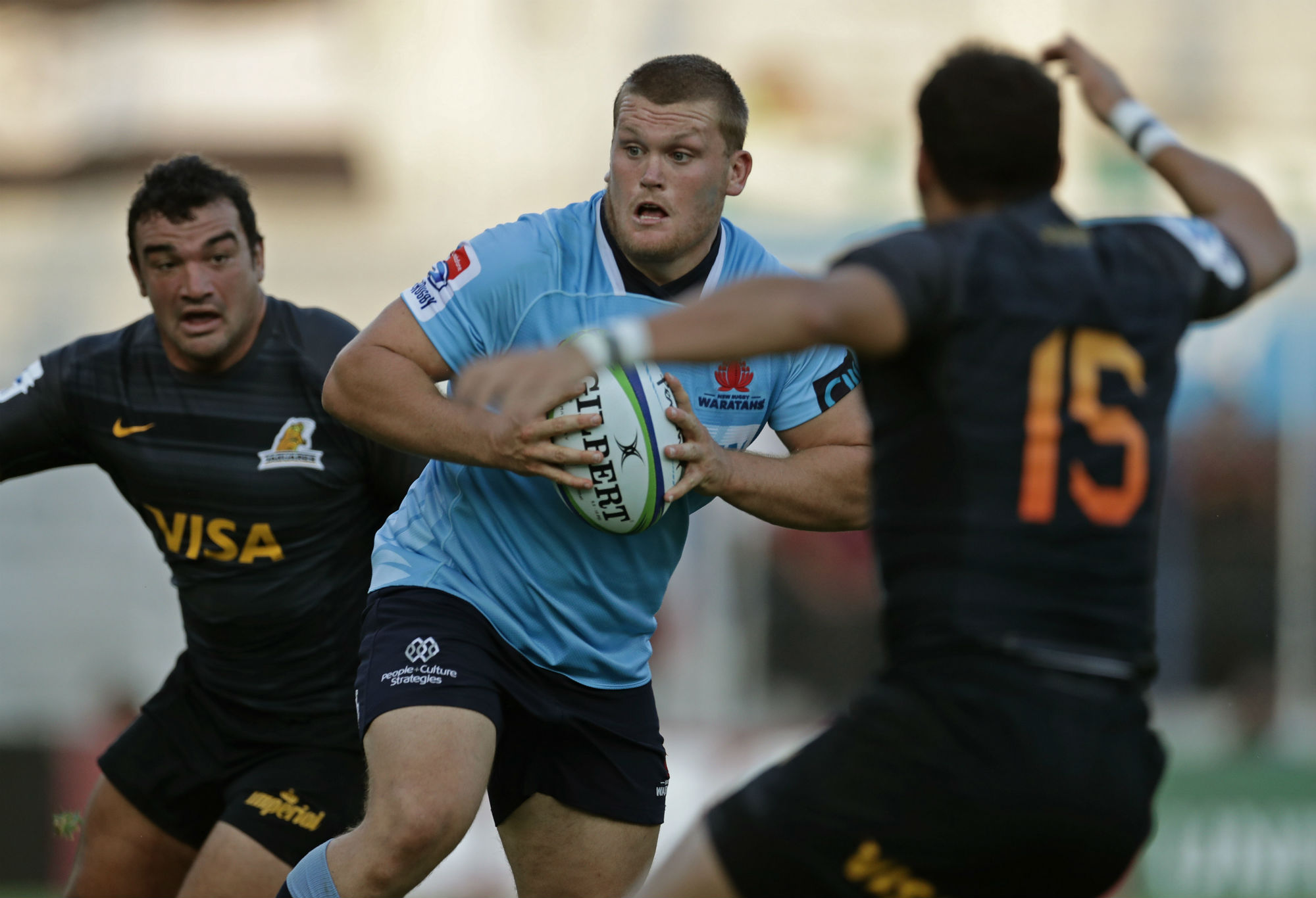Tom Robertson playing for the Waratahs
