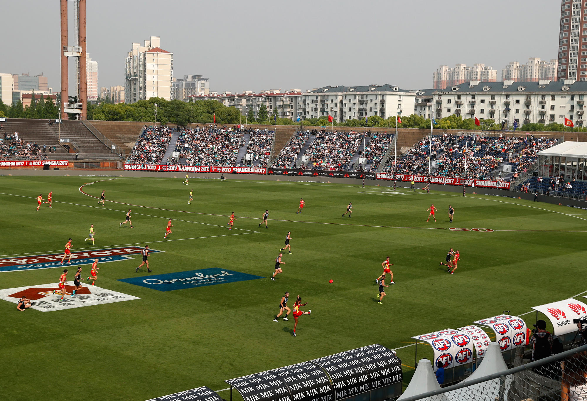 AFL Power vs Suns in Shanghai