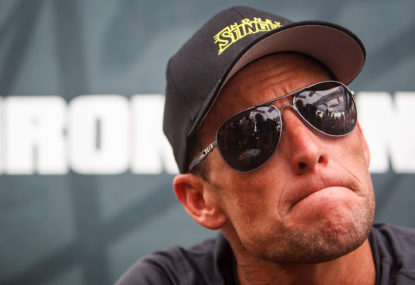 Cycling is just so much better with Lance Armstrong involved