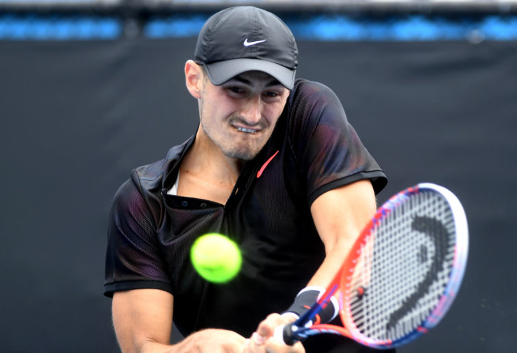 Bernard Tomic Australian Open qualifying