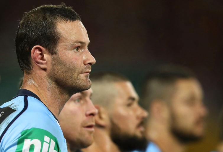 Boyd Cordner for the NSW Blues