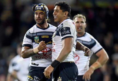 Thurston-inspired Cowboys overrun Knights in Friday night thriller