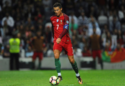 Ronaldo on target again as Portugal defeat gallant Morocco