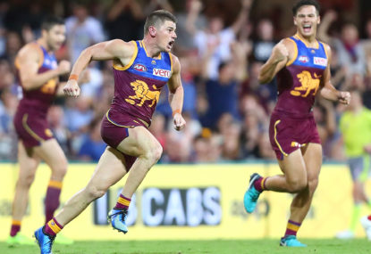 AFL top 100: Brisbane's games and goals