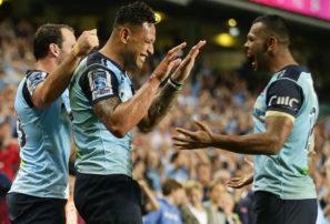 Kurtley Beale, Israel Folau and Bernard Foley inspire a Super Rugby semi berth