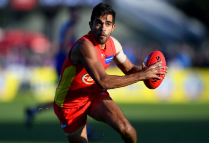 Gold Coast Suns vs North Melbourne Kangaroos: AFL live scores, blog