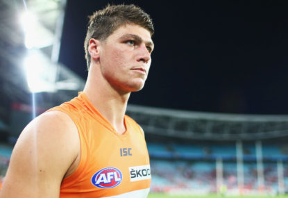 Hawthorn set to pick up another former no.1 pick from GWS