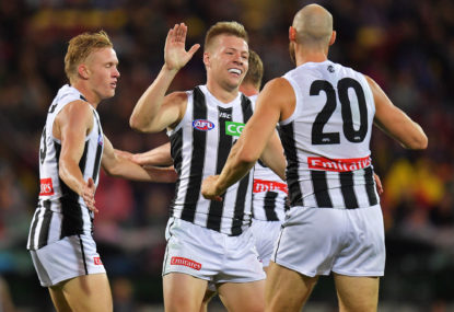 Collingwood's four running forwards will dictate their finals fortunes