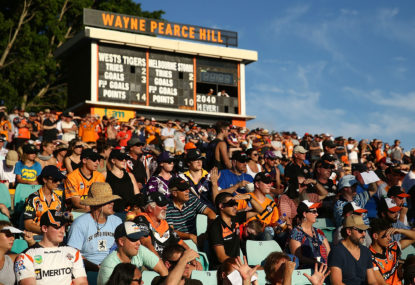 Home isn't where the heart is for Wests Tigers