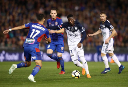 Leroy George claims Victory A-League medal