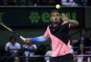 WATCH: Nick Kyrgios forgets tennis shoes, wins anyway