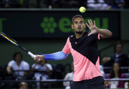Kyrgios out of Italian Open after throwing tantrum
