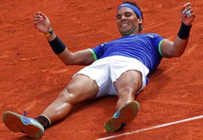 Rafa Nadal, and his strange non-clay court jinx