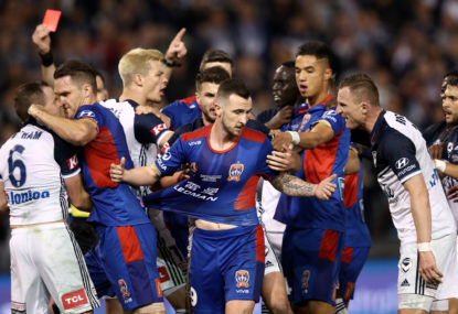 Newcastle Jets vs Melbourne Victory: A-League live scores, blog