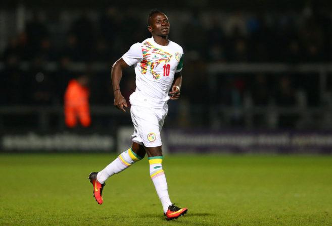 Senegal's Sadio Mane looks on.
