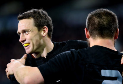 Refereeing the All Blacks