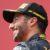 Daniel Ricciardo celebrates on the 2017 Austrian Grand Prix podium. (GEPA pictures / Christian Walgram)