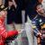 Daniel Ricciardo and Sebastian Vettel celebrate on the 2017 Monaco Grand Prix podium. (Mark Thompson/Getty Images)