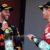 Daniel Ricciardo and Sebastian Vettel celebrate on the 2017 Spanish Grand Prix podium. (Mark Thompson/Getty Images)