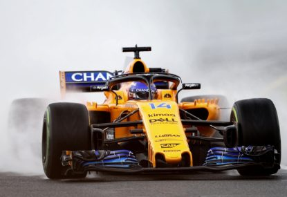 McLaren are finally on the way up