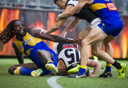 Nic Naitanui cannot - must not - be acquitted for his heavy tackle