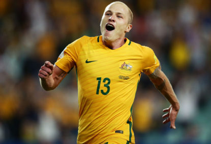 Aaron Mooy cruises as Socceroos smash Kuwait 3-0