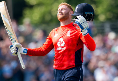 Bairstow boosts his chances of becoming England's T20 number-four