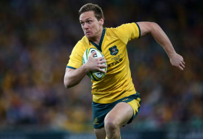 Bernard Foley re-signs with Rugby Australia until 2019