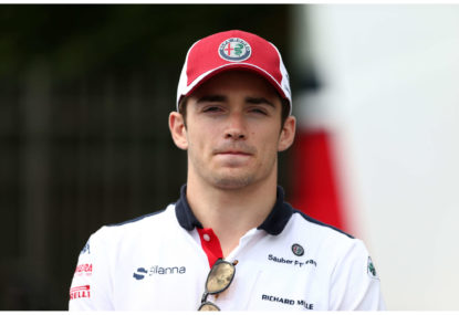 Charles Leclerc takes his maiden win in Spa in memory of Anthoine Hubert
