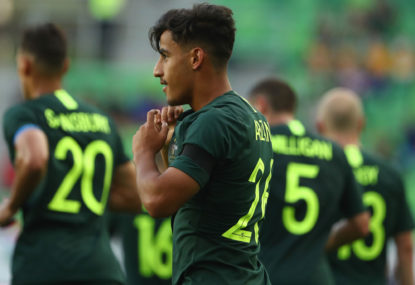 Time for Arzani to make his move