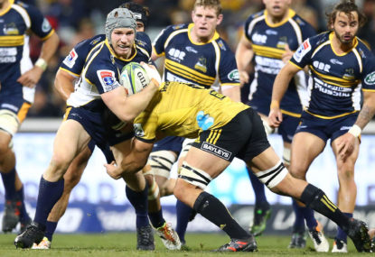 Brumbies upset Hurricanes 24-12