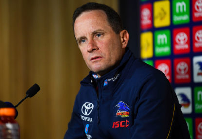 Where has it all gone wrong for the Adelaide Crows?
